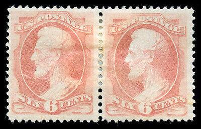 Usa Us Briefmarken #159 Postfrisch Og Paar Psag Cert Modernes Design Momen