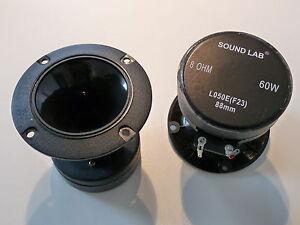 1 Paar Soundlab L050E PA Horn Hochtöner Magnettreiber Tweeter TOP