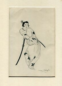 Japanese drawing pencil by Anne Catchpole
