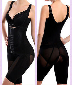 6663842ae5768 UK Women Full Body Waist Trainer Shaper Cincher Underbust Corset ...