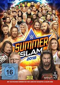 SUMMERSLAM-2018-WWE-ROMAN-REIGNS-JOHN-CENA-BROCK-LESNAR-2-DVD-NEU
