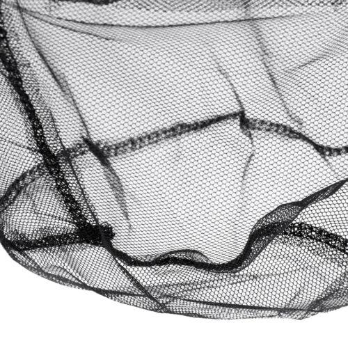 Aluminiumlegierung 50 cm Fischernetz Teleskop faltbare Kescher Nylon Mesh