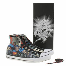Converse Men's Multi Chuck Taylor Hi Superman Comics Trainers UK 12 EU 46.5