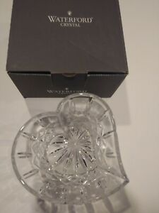 """Waterford Crystal Signed 6"""" SWEETHEART BOWL w/Box Germany"""