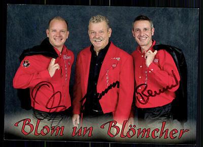 2019 Mode Blom Un Blömchen Autogrammkarte Original Signiert## Bc 6409 Weich Und Rutschhemmend National