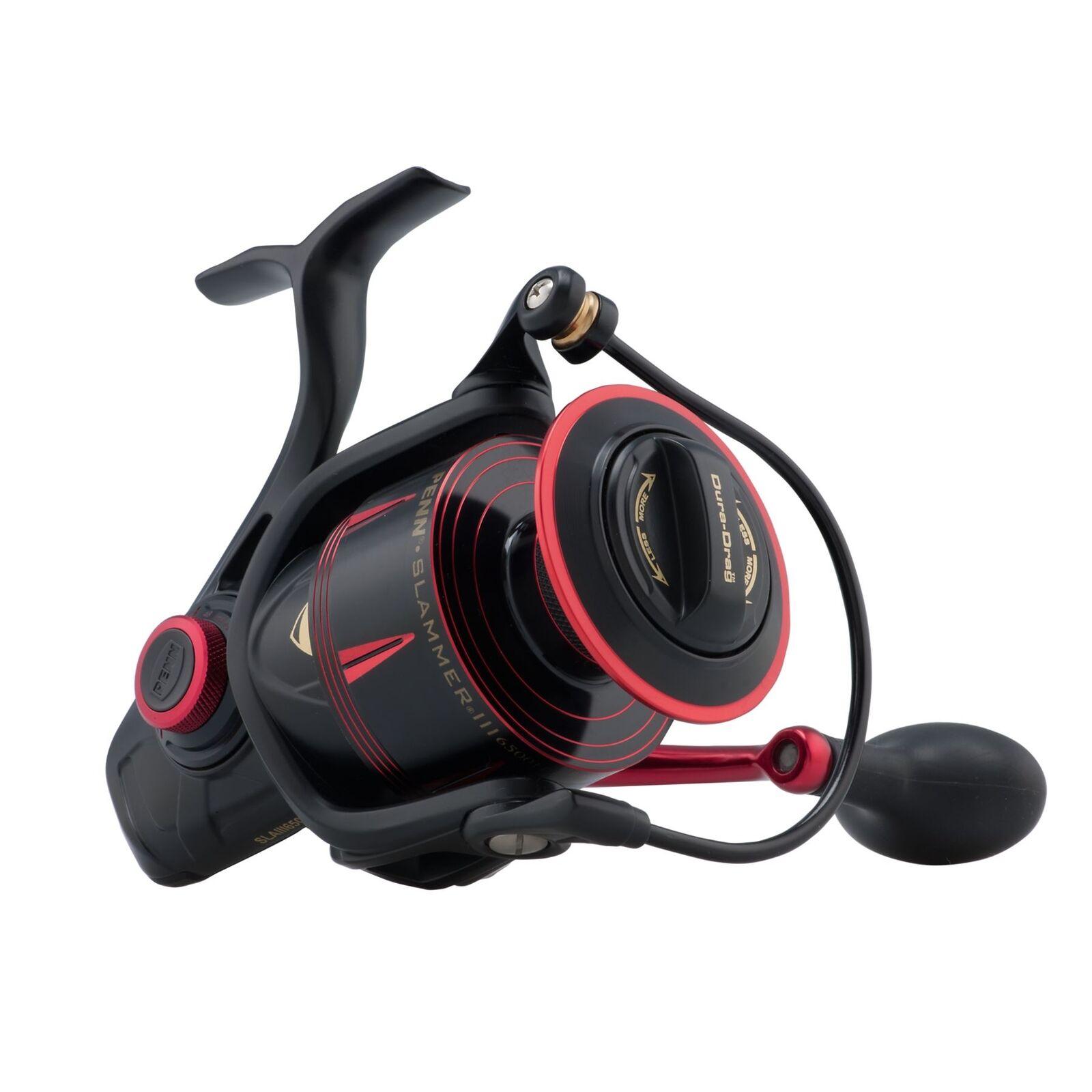 Penn Slammer III 6500 HS   Heavy Duty Spinning Fishing Reel