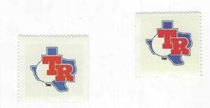 1983-FLEER-BASEBALL-2-STAMPS-TEXAS-RANGERS