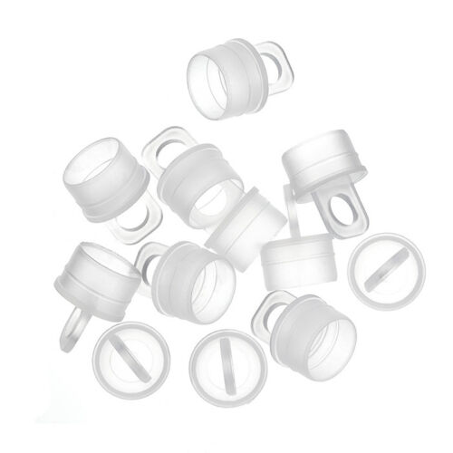 Plastic Caps for Hangable Seed Bead Tubes 14mm Pack of 12 G61//5