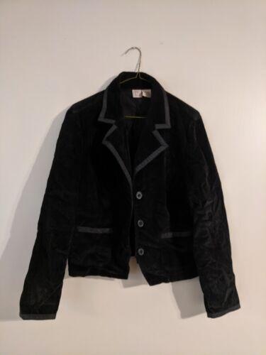 Women's Black Corduroy Blazer