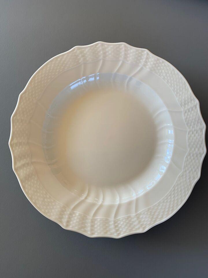 Porcelæn, tallerkner, Royal Copenhagen