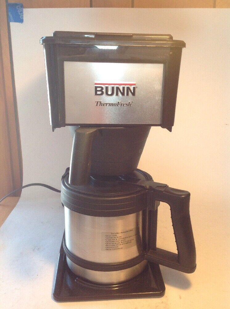 BUNN DURABLE 10 Cup VELOCITY BREW THERMAL CARAFE COFFEE MAKER BTX-B
