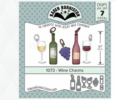 Karen Burniston Dies Wine Charms 084282632876