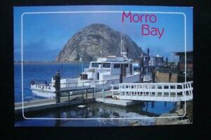 318-MORRO-BAY-CALIFORNIA-THE-034-MORRO-ROCK-034-034-FIESTA-034-BOAT-SAN-DIEGO-CA-DOCK