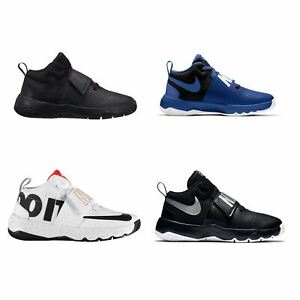2241a4d292f Nike Team Hustle D8 Junior Boys Basketball Shoes Trainers Footwear ...