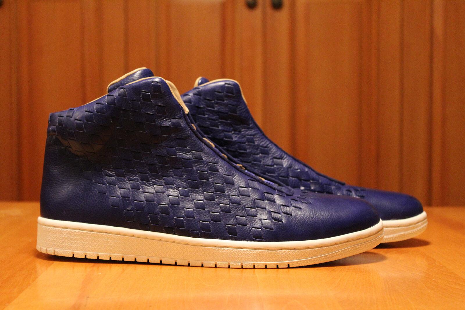 Air Jordan Shine bluee White rare 11.5 retro Athletic Sneakers