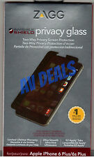 ZAGG Privacy Glass InvisibleShield IPPGPC Warranty iPhone 6 Plus, 6s Plus (5.5)