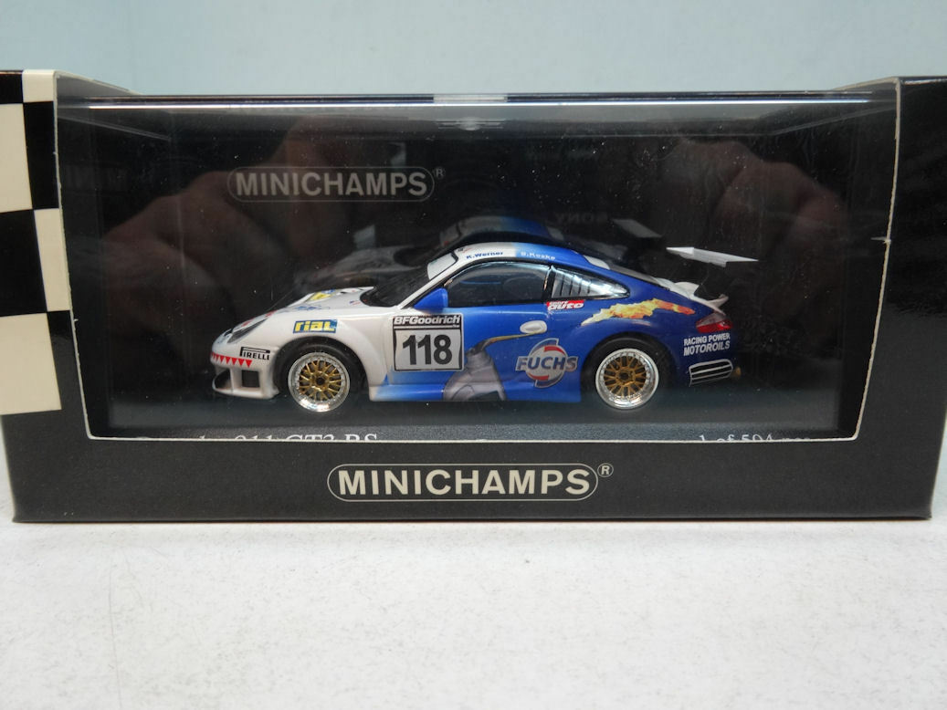 Minichamps   PORSCHE 911 GT3 RSR (TYP 997) - TEAM WERNER SPORT 400076418