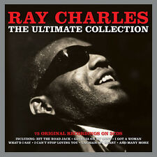Ray Charles ULTIMATE COLLECTION Best Of 75 Songs ESSENTIAL New Sealed 3 CD