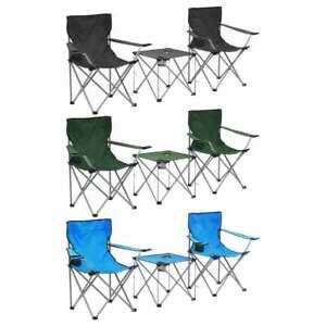 Set Tavolo E Sedie Da Campeggio.Vidaxl Tavolo E Sedie Da Campeggio 3pz Pieghevole Set Da Pranzo Colori Diversi Ebay