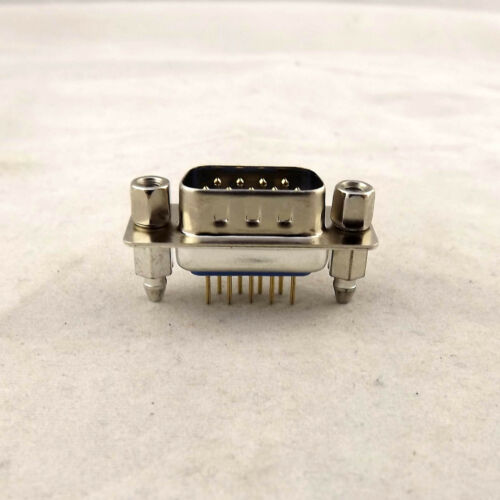 2x D-SUB DB9 9Pin Male DP9 2 Rows Straight DIP PCB Solder Type Connector Adapter