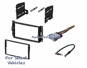 details about double din car radio kit combo for select 2006 2007 2008 2009  2010 hummer h3 h3t
