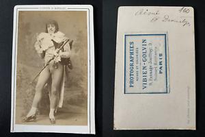 Gaston-amp-Mathieu-Paris-Aime-aux-Folies-dramatiques-Vintage-albumen-print-CDV