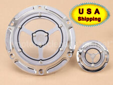 Fits Sportster Iron 883 1200 CNC Engine Cover Cross Derby /& Timing Timer Covers