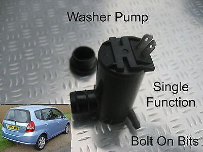 Front Windscreen Washer Pump Fits Honda Jazz 2002 2003 2004 1.4 i-DSI S SE Sport
