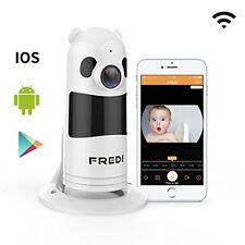 WiFi 1080P Baby Monitor Nanny Security Camera Infrared Night Vision 2-WAY Audio
