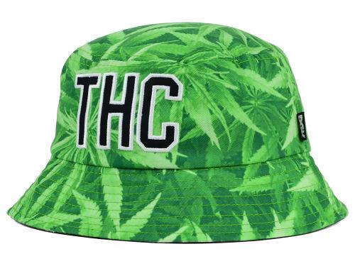DGK Dirty Ghetto Kids THC Hemp Cannabis Pot Bucket Style Fishing Cap Hat