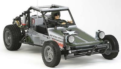 NEW Tamiya 1/10 Fast Attack Vehicle w/Shark Mouth 2WD Kit 58539
