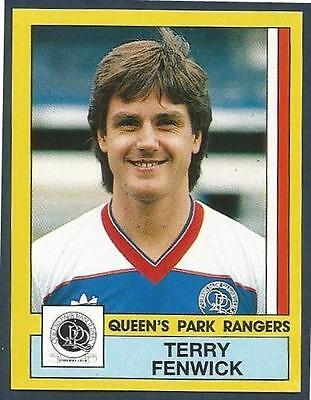 Verzamelingen PANINI Football 87 Sticker No.251 QUEEN'S PARK RANGERS Terry Fenwick