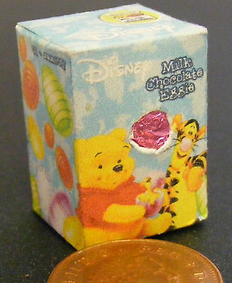 1:12 Scale Empty Easter Egg Box Tumdee Dolls House Miniature Sweets Scooby Doo