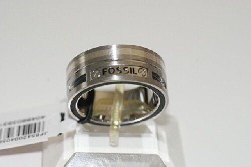 Fossil señora caballero anillo de acero inoxidable jf85420 tendencia PV uso 20//200//63 nuevo