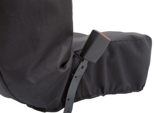 Werkstattsitzbezug mit Taschen Universal Schonbezug Nylon passend für Seat.