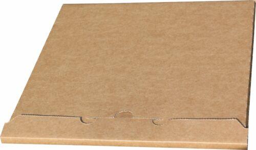 />NEU/< 100 St Deluxe LP Versandkartons für 1 Vinyl LP 325x325x4 mm sehr stark