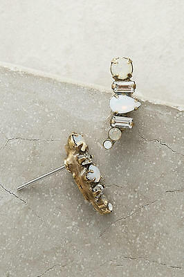 NWT Anthropologoie By Sorrelli Swarovski Crystal Ellum Climbers Earrings $44