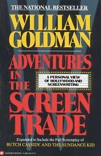 Adventures in the Screen Trade : A Personal View of Hollywood and Screenwriting by William Goldman (1989, Paperback)