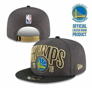 cca3db14612 Image is loading Golden-State-Warriors-Snapback-Cap-2018-NBA-Champions-