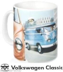 VW-Bus-Becher-Tasse-T1-Bulli-Porzellan-NEU