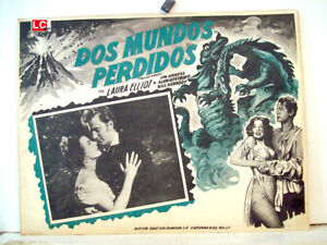 TWO-LOST-WORLDS-L-ELLIOT-1951-OPTIONAL-SET-MEXICAN-LC