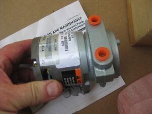 Gast Usa 24v Brushless Rotary Vane Air Pump Compressor 24