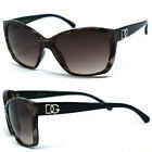 DG Womens Cat Eye Sunglasses + Free Pouch - Transparent Tortoise DG175