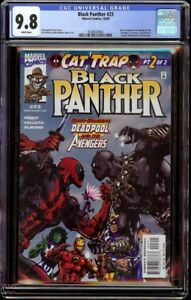 Black-Panther-23-CGC-9-8-White-Marvel-2000-Deadpool-appearance