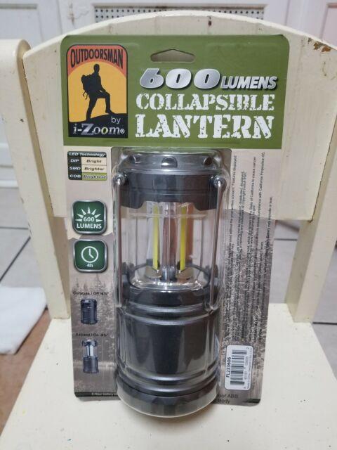 Set 2 Outdoorsman I-Zoom Collapsible Lantern LED 9w UltraBright COB 600 Lumens for sale online