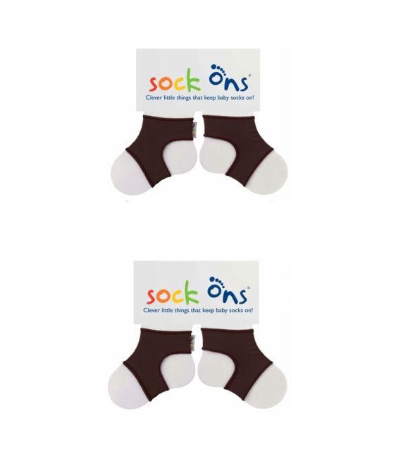 Sock Ons Ferma calzini per bambini 12 mesi colore Bianco