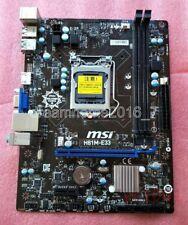 VGA MSI H81M-E33 LGA 1150 Intel h81 Motherboard  MicroATX H81ME33 HDMI