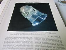 Archiv Bayerische Geschichte 1 bis Mittelalter 1032 Fränkisches Glas 6. Jahrhund