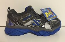 NEW Skechers Boys Triadz Super Z Strap Shoes Size 10.5 Youth Gray Blue 95455 $60