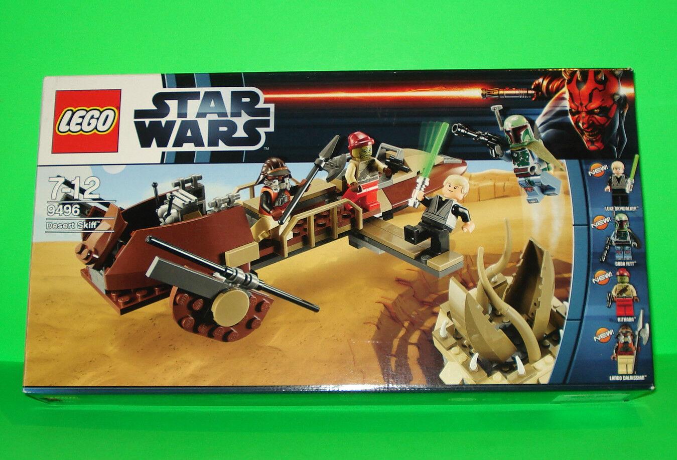 LEGO star wars set Desert skiff 9496 9496 9496   avec personnages-Boba Fett-OVP    top 32e820